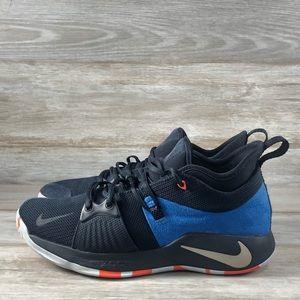 Nike PG 2 Home Craze Basketball Shoes Blue/Black
